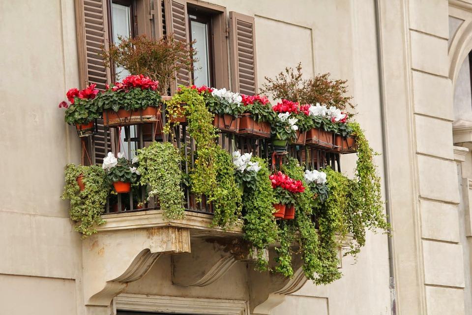 How Can You Get A Stunning Balcony Garden?